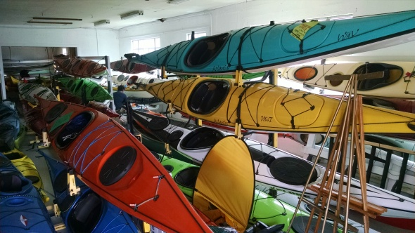 Sweetwater Kayak's Boat House